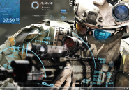 Ghost Recon Rainmeter Skins