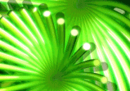 Green 3D Screensaver