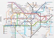 London Metro Map3 Screensaver