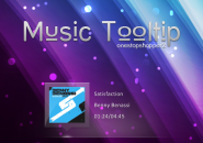 Music Tooltip Rainmeter Skins