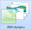Olympics themepack for windows 7