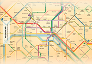 Paris Metro Map Screensaver