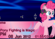 Pinkie Beat Player Rainmeter Skins