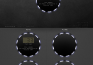 Power Plant Rainmeter Skins