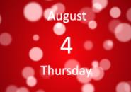 Red Drop Calendar Screensaver