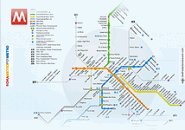 Rome Metro Map Scrrensaver