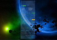 Sensuyaki Planet Windows 7 Rainmeter Skin