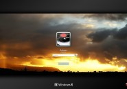 Sky On Fire Logon Screen