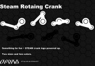 Steam Crank Rainmeter Skins
