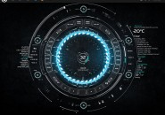 TECH-A Rainmeter Skins