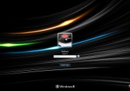 Ultimate Black Logon Screen For Windows 7