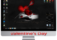 Valentine's day themepack for windows 7
