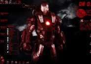 War Machine Windows 7 Rainmeter Theme
