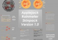 applejack_rainmeter_skinpack_version_1_by_sonicpants-d4jdmpk