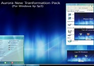 aurora new theme for windows 7