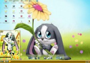 schnuffel bunny theme for windows 7