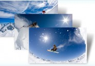 snow sports themepack for windows 7