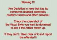 A warning to everyone Windows 7 Visual Styles