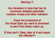 A warning to everyone Windows 7 Visual Styles