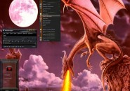 Dragon Theme Windows 7 Visual Styles
