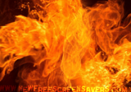 Fire Flash Screensaver
