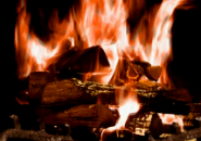 Fire Place Screensaver