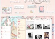 Pink Elune Windows 7 Visual Styles