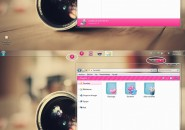 Pink Girly Windows 7 Visual Styles