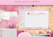 Pink Polka Dot Windows 7 Visual Styles