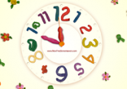 Plasticine Analog Clock Screensaver