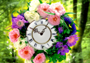 Wreath Clock Screensaver
