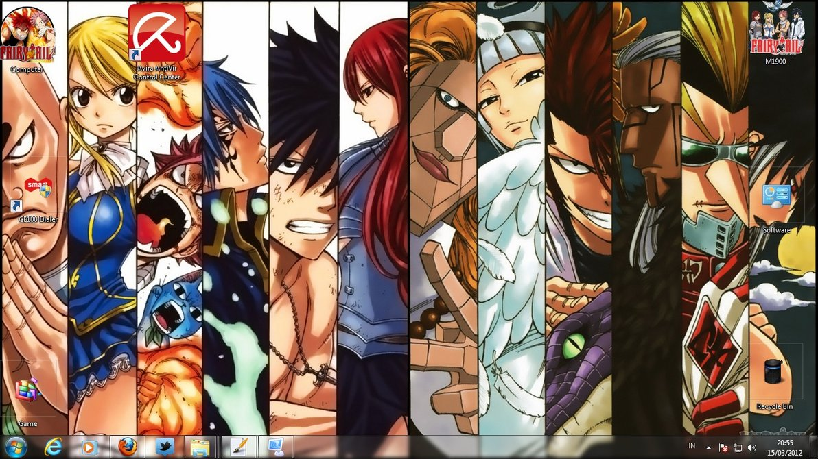 Fairy Tail Skins Windows 8 Fairy Tail Theme Windows 7 is