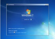 windows 7 installation