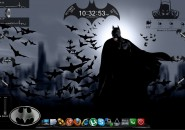 Batman Ultimate Windows7 Rainmeter Theme