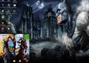 Batman Windows Blind Theme
