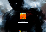 Dark Side Windows 7 Logon Screen
