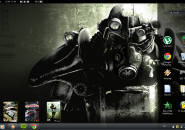 Gamer Windows7 Rainmeter Theme