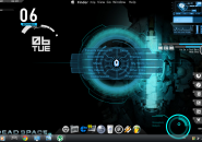 Gaming V2 Rainmeter theme for Windows7