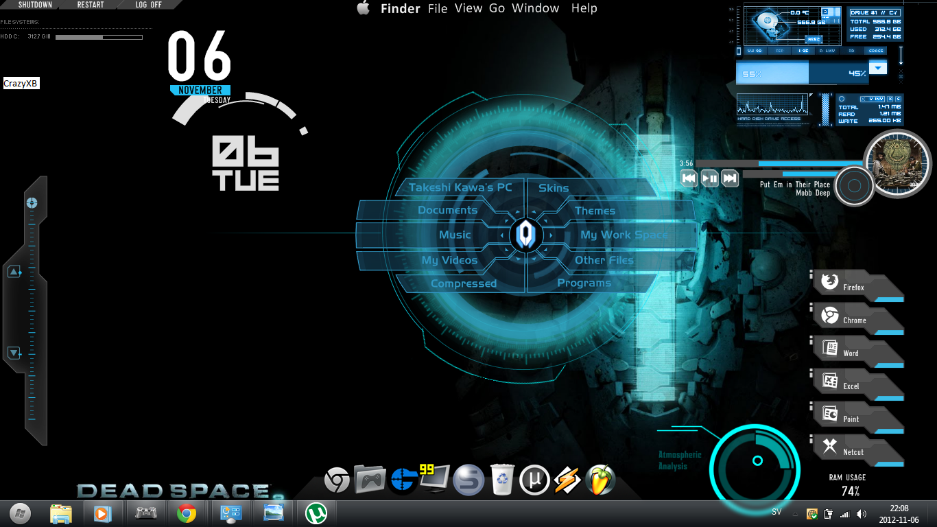 Latest Desktop Themes ...