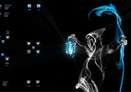 Ghost Windows7 Rainmeter Theme