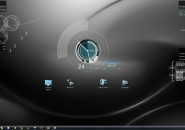 Grey Streak Windows7 Rainmeter Theme