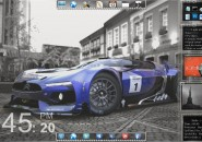 Light Utility Rainmeter Theme for Windows7