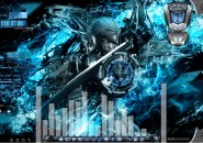 Metal Gear Animated Windows7 Rainmeter Theme