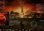 New Vegas Windows7 Rainmeter Theme