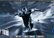 Project Silver Windows7 Rainmeter Theme