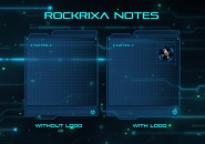 Rockrixa Notes Rainmeter Skin