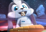 Schnuffel Bunny3 Windows 7 Logon Screen