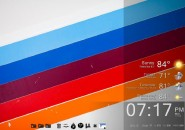 Spray Windows7 Rainmeter Theme