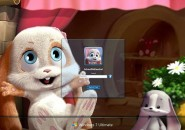 Sweet bunny Windows 7 Logon Screen