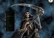 The Reaper Windows7 Rainmeter Theme